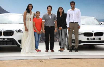 sachin gift bmw car to rio olympics winnner daughters of india
